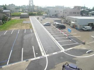 宅地・駐車場造成 完了①