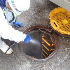 公共下水道調査②