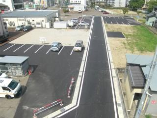 宅地・駐車場造成 完了②