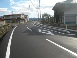 稲増道路 完了